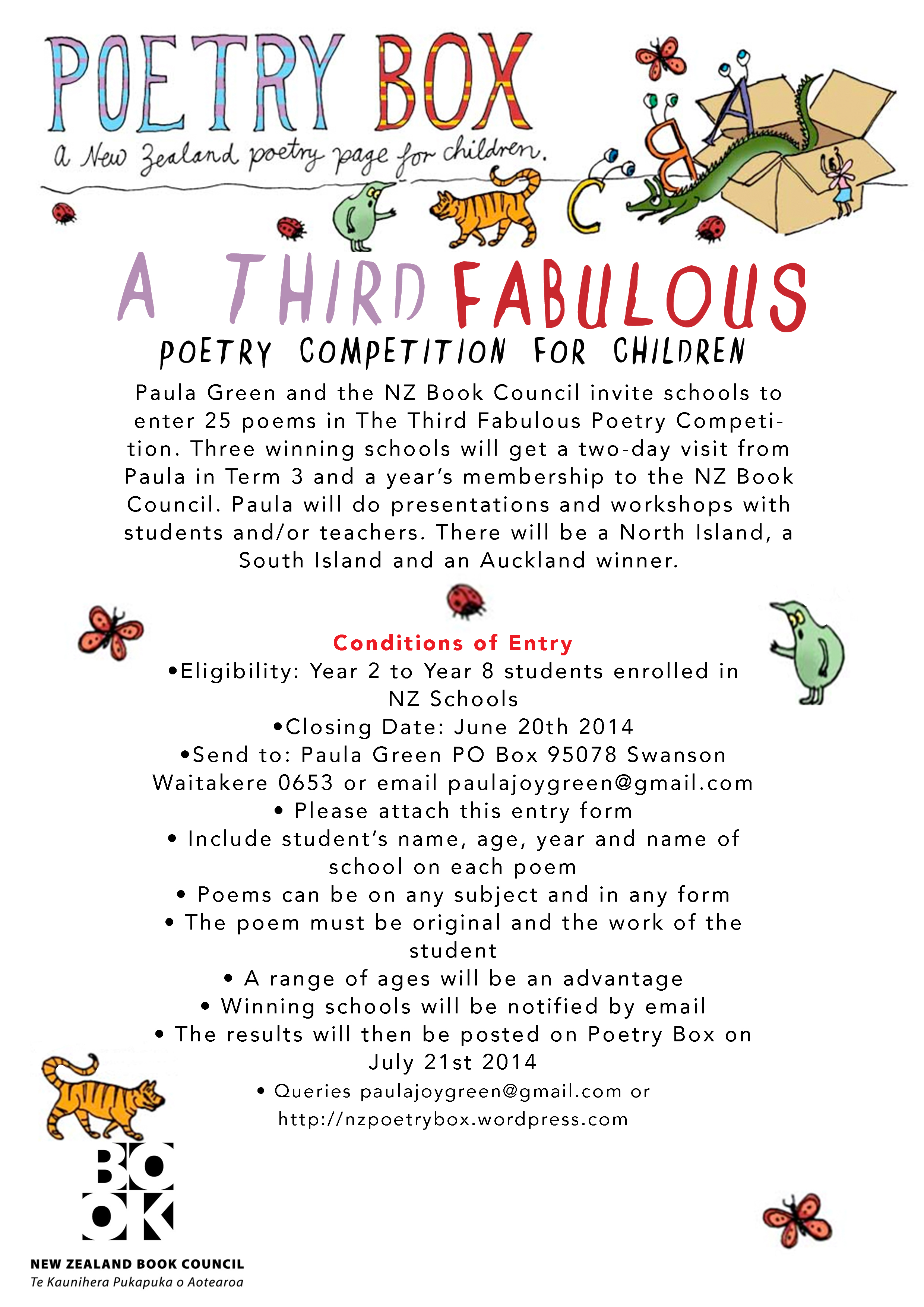 Poetry competition | Poetry Box