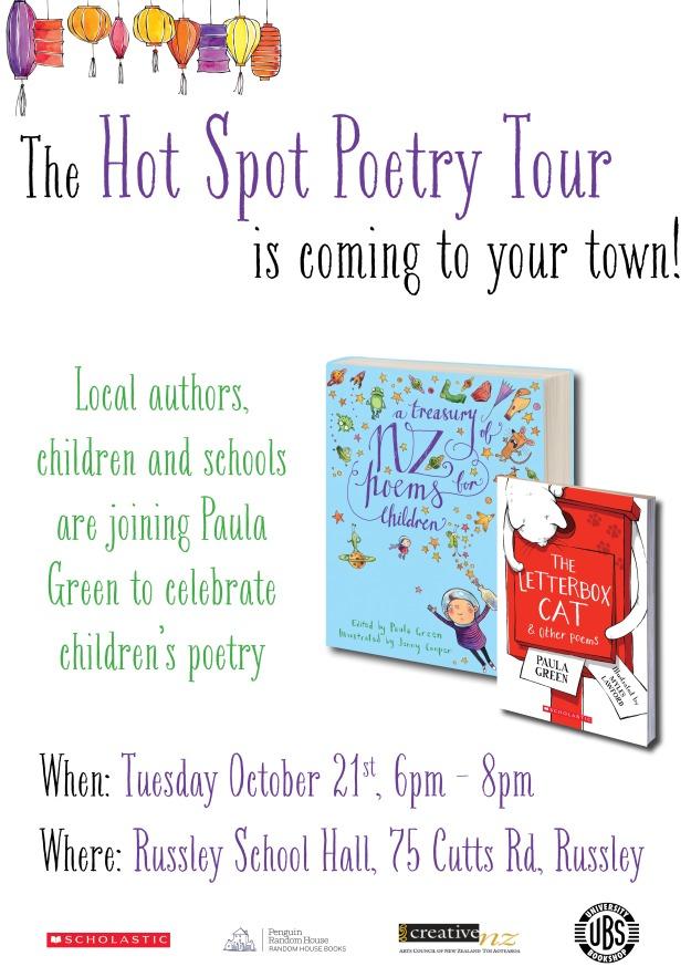 Hot Spot Poetry Tour - Christchurch
