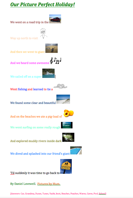 Daniel's poem Screen Shot 2015-03-03 at 4.39.07 pm